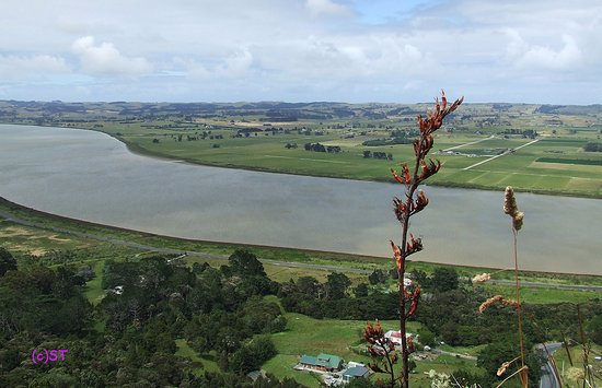 Dargaville, Neuseeland: View to the southwest