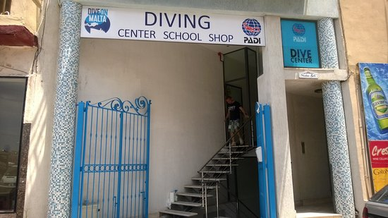 Dive on Malta