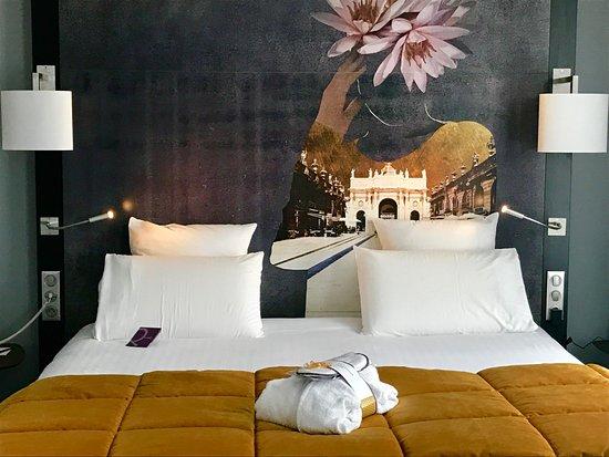 Chambre Privilège avec lit King Size - Picture of Mercure Nancy ...