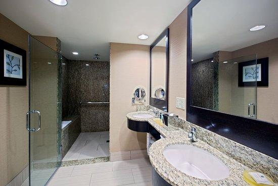 Glen Ellyn, إلينوي: King Suite Bath