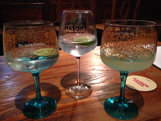 Carlton, UK: Mason's Gin