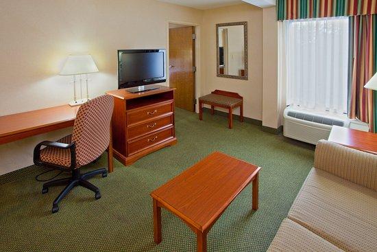 Mechanicsville, VA: One Queen Bed Suite, spacious comfort with 37 Flat Screen TV!