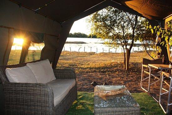 Hippo Island Okavango Delta