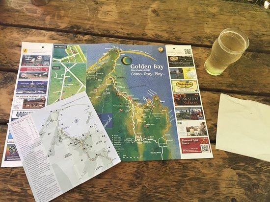 Onekaka, Nieuw-Zeeland: Sidro in attesa delle cozze