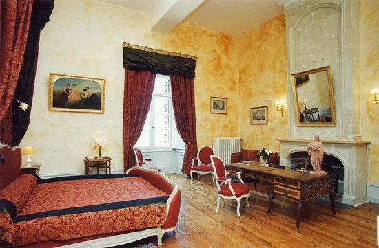 Château de Ternay, chambre Piolant (1 lit double king size 200/200 ...