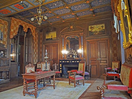 Château de Ternay, un salon