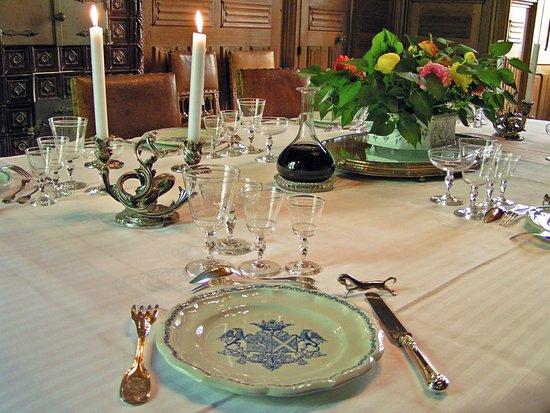 Château de Ternay, diner dans un prestigieux couvert du 19ème siècle