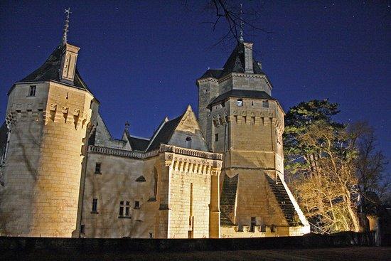 Château de Ternay, un soir d'été