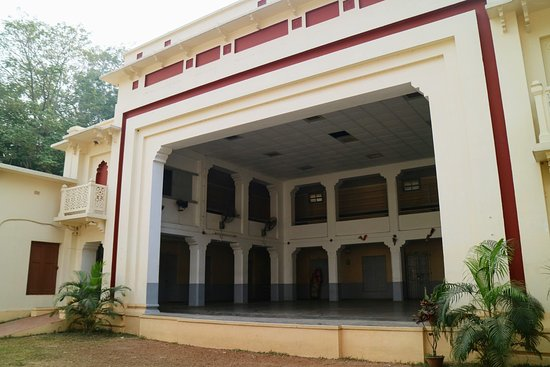 Santiniketan, India: A photo of the place from outside.