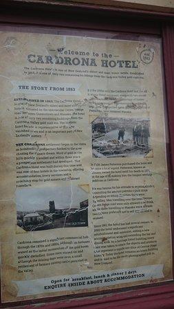 Cardrona Hotel: History