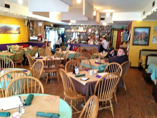 Saluda Cafe interior