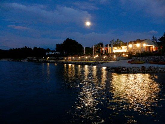 Dugi Island, Croatia: Restaurant in the campsite