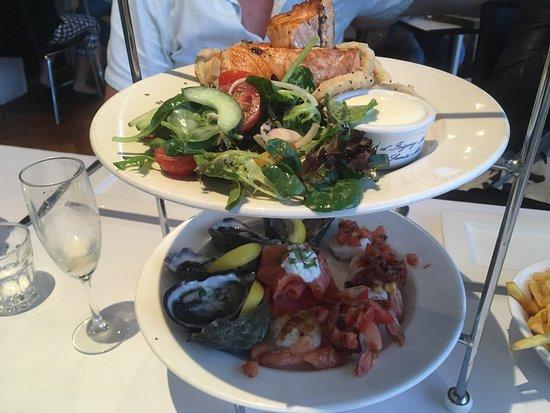Sorrento, Australien: Seafood platter