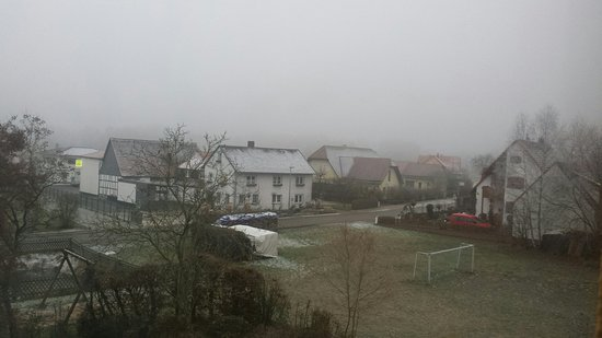 Windelsbach, Alemanha: View from my window on a very cold morning!