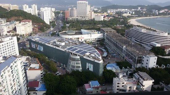 Sanya, China: Вид из отеля