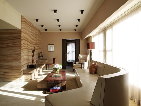 The Roxy Hotel Tribeca: Penthouse Living Area