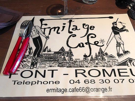 Cafe L'ermitage
