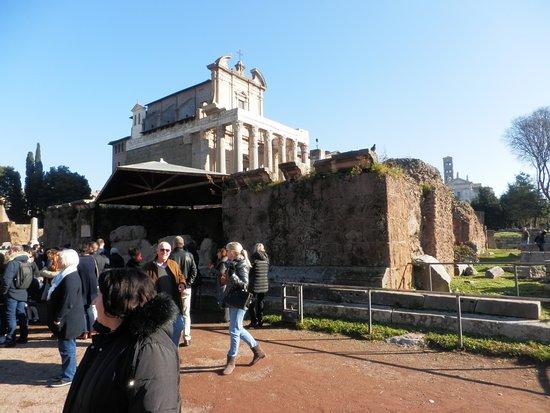 Tempio del Divo Giulio: veduta