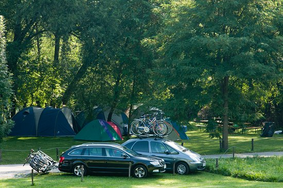 Tolmin, Eslovênia: Labrca outdoor center with restaurant - camping place 3