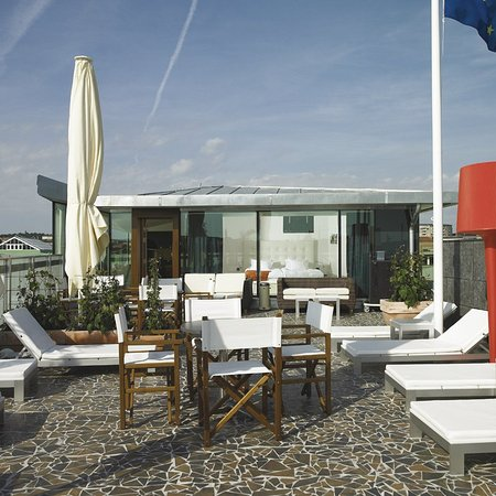 Avalon Hotel : Rooftop Terrace