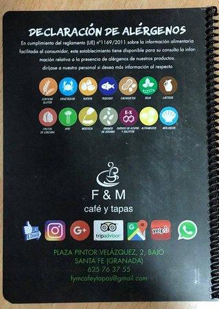 Santa Fe, Spain: F & M Cafe y Tapas