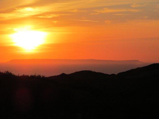 Mortehoe, UK: Sunset