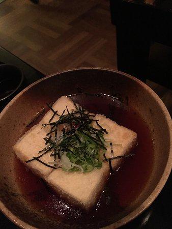 Miyako @ Andaz : 揚げだし豆腐