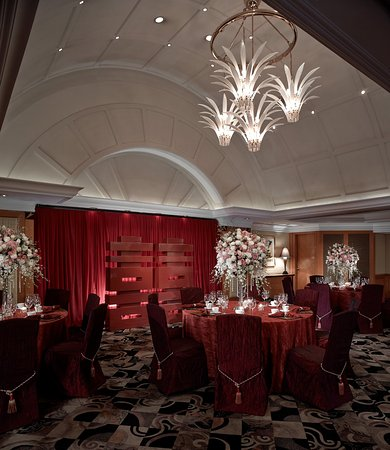 InterContinental Grand Stanford: Picasso Room - Banquet Set-up