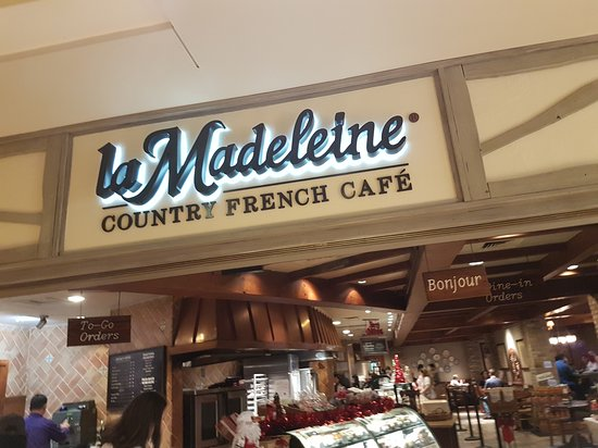 La Madeleine French Bakery - Picture of La Madeleine French Bakery ...