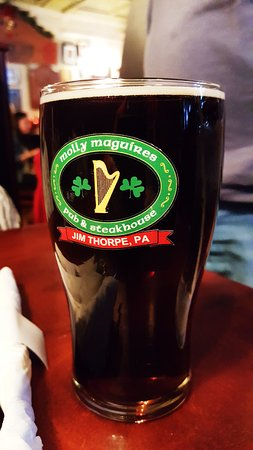 Jim Thorpe, PA: local brew