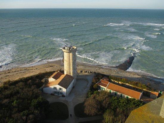 Saint Clement des Baleines, France: vue sur la mer