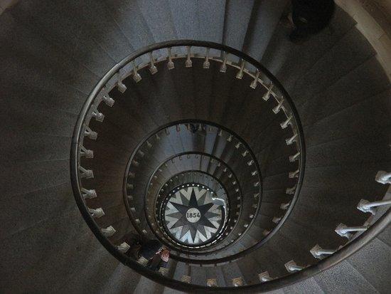 Saint Clement des Baleines, France: haut de l'escalier