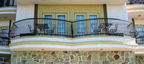 Marble Falls, TX: Balcony 1