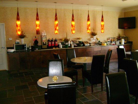 Broussard, Луизиана: Breakfast Area
