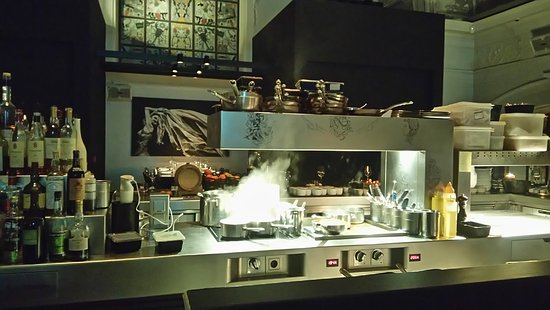 The Jane: Kitchen In Bar Area On First Floor
