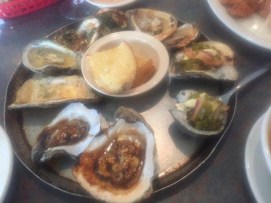 Abbeville, LA: Oyster sampler