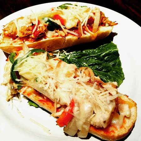 Chickasha, OK: Chicken French bread pizza