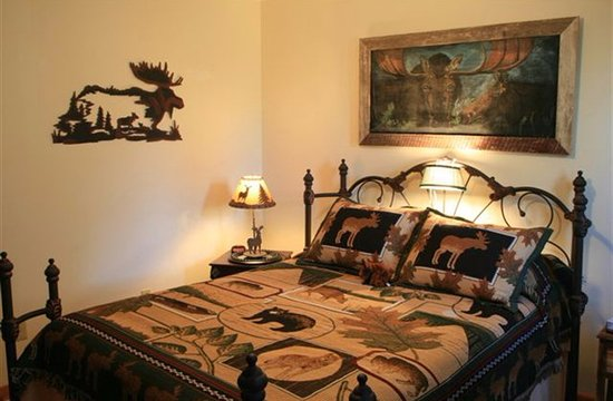 Brasstown, Carolina del Norte: Moose Medley- Queen size room