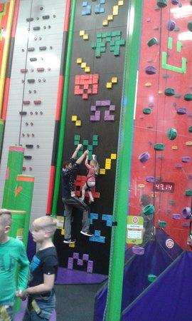 St Austell, UK: Clip n'Climb