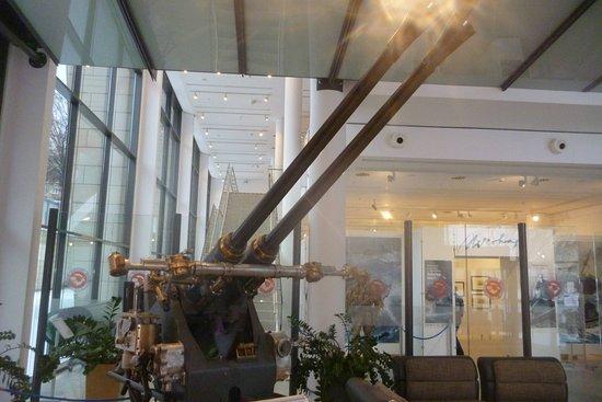 Muzeum Marynarki Wojennej: Działko przeciwlotnicze