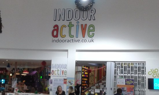 St Austell, UK: Main Activity entrance