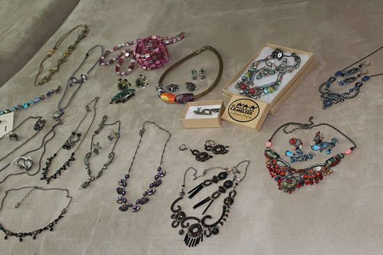 Culpeper, VA: Just some of the jewelry I've collected over the years, compliments always!