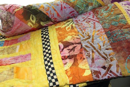 Culpeper, VA: A lovely handmade art quilt.