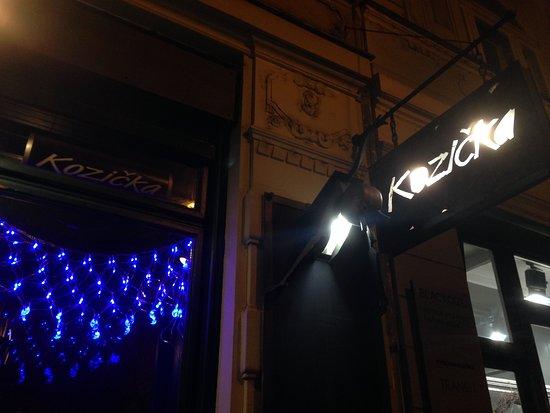 Restaurace Kozicka : insegna esterna
