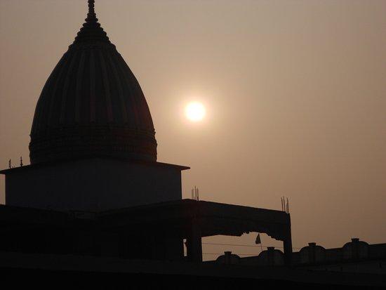 Bhagalpur, Indien: temple mandap