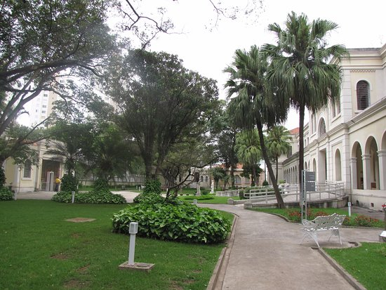 Museum of Immigration of the State of Sao Paulo: Jardins do Museu do Imigrante