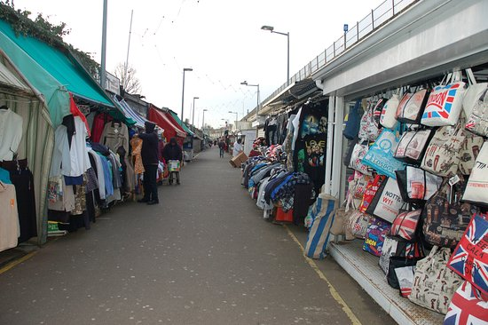 ‪New Shepherd's Bush Market‬