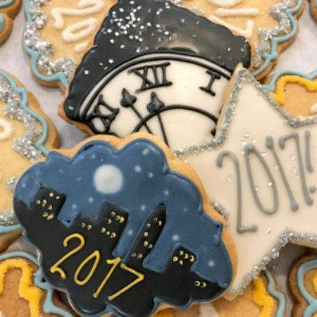 Maplewood, Nueva Jersey: Hand-decorated Sugar Cookies