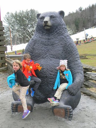 Scaly Mountain, NC: The triplets on the Bear at Scaly