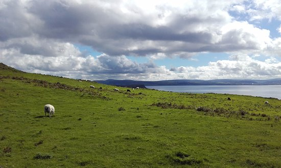 Rathlin Island, UK: One of those views